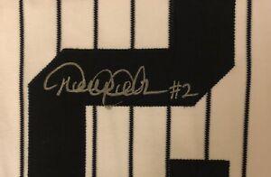 Derek Jeter New York Yankees Signed Autographed Jersey No COA