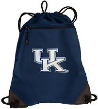 University of Kentucky Drawstring Backpack UK Wildcats Bags MESH & MICROFIBER