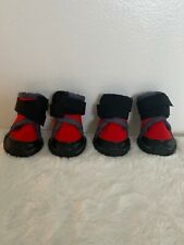 JML Design-New Cute Red Cozy Waterproof Adjustable Boots Shoes for Dog Puppy