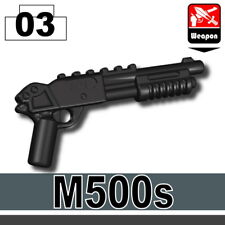 M500S (W288) Tactical Shotgun compatible with toy brick minifigures