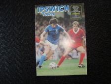 Liverpool Football League Cup Fixture Programmes (1980s)