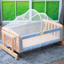 Baby Cradle Bed Canopy Tent Toddler Crib Safe Mosquitos Net Netting Mesh Tool