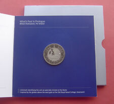 """UK 2000 Millennium 5 Pounds Copper-nickel Coin """"Dome at 3 o'clock in inner"""""""