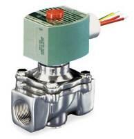 "ASCO 8040G022 1/2"" NPT 2-Way Fuel Gas Solenoid Valve 120VAC 3/4"" Orifice"