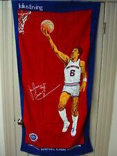 NOS Vintage Philadelphia 76ers Julius Erving Doctor J Beach Towel