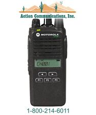 MOTOROLA CP185 - UHF 435-480 MHZ, 4 WATT, 16 CH DISPLAY/KEYPAD TWO WAY RADIO