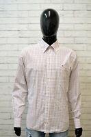 TOMMY HILFIGER Uomo Camicia Taglia XL Maglia Camicetta Shirt Men Hemd Quadri