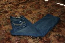 Men's Axe & Crown Loose Straight Jeans Sz 30x30 Destroyed/Distressed Charmander