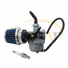 PZ19 Carburettor Air Filter Spark Plug for 110cc 125cc Quad ATV Pit Dirt Bike