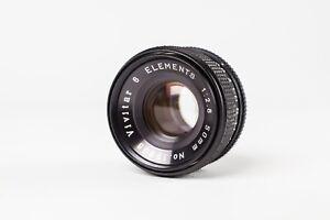 Vivitar 50mm f2.8,  6 Element Enlarging Lens. Excellent Condition. M39 Screw Fit