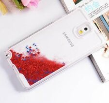 Samsung Galaxy Note 3 - HARD SKIN CASE COVER Flowing Sparkle Liquid Glitter Star