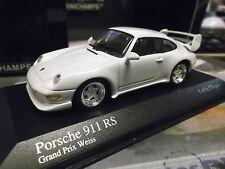 PORSCHE 911 993 RS Carrera Sport weiss white 1995 RARE PMA Minichamps 1:43