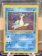 LAPRAS - 10/62 - Fossil - Holo - Pokemon Card - EXC / NM
