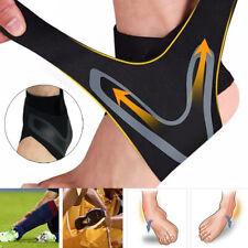 ADJUSTABLE ELASTIC ANKLE SLEEVE Elastic Ankle Brace Guard Foot Support Sports