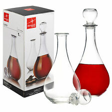 Bormioli Rocco Loto Glass Decanter Wine Brandy Sherry Liqueur Alcohol Whisky New