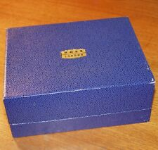 EMPTY BOX carton ROSS LONDON UK large blue vintage presentation