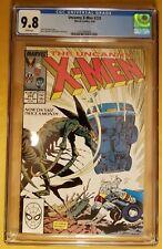 The Uncanny X-Men #233 CGC 9.8 White Pgs.