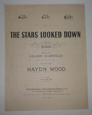 THE STARS LOOKED DOWN Song No 3 In G 1948 Sheet Music For Piano Haydn Wood