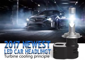 Set LED Mtec Tucson Hyundai 9600 Lumen H7 12V Lumen The More' Powerful