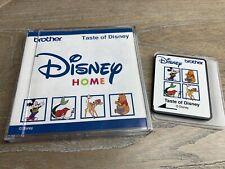 Taste Of Disney Home Brother Machine Embroidery Card XC3085-001 EC-306B Mickey