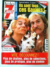 Télé 7 Jours 16/01/1999 Spécial Astérix et Obélix / Casta / Depardieu/ Clavier