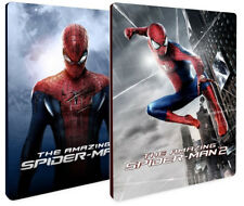THE AMAZING SPIDER-MAN 1 e 2 STEELBOOK COLLECTION (2 BLU-RAY) Andrew Garfield