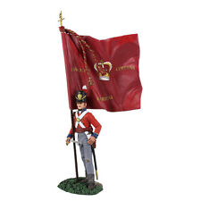 W. Britain Napoleonic 36143, British 1st Foot Guard, Ensign W/ King's Colour