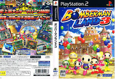 Used PS2 Bomberman Land 3  SONY PLAYSTATION JAPAN IMPORT