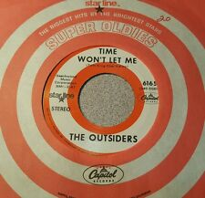 Outsiders, The ‎– Time Won't Let Me / Girl In Love ~ (M-)