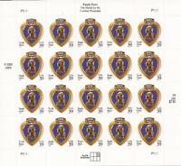 US Stamp - 2006 Purple Heart - 20 Stamp Sheet - Scott #4032