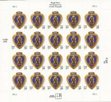 US Stamp - 2006 Purple Heart - 20 Stamp Sheet - Scott #4032