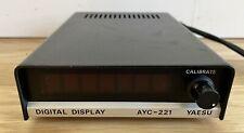 Very Nice YAESU Model AYC-221 YC-221 Digital Display - NR