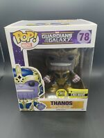 "Funko Pop Marvel Guardians of the Galaxy #78 Thanos (EE EXCLUSIVE) GITD 6"" Pop"