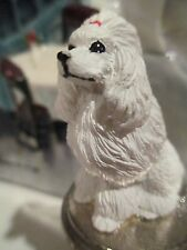 POODLE  WHITE   WINE STOPPER