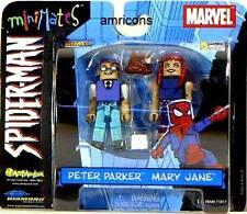 Marvel Comics miniMates Peter Parker & Mary Jane Con Special Spider-Man 2003
