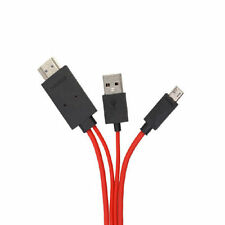 2m 6ft 1080p Micro Usb Mhl A Hdmi Cable Adaptador Hdtv Samsung Galaxy S4 S3 Note2