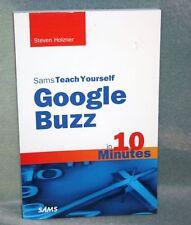 Sams Teach Yourself Google Buzz 2010 softcover book