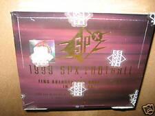 1999 Upper Deck SPX Football Hobby Trading Cards Box