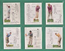 GOLF  -  JOHN  PLAYER  &  SONS  -  RARE  SET  OF  L 25  GOLF  CARDS  -  1939