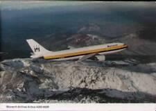 (xa1) Airplane Postcard: Monarch Airlines, Airbus A300-600R