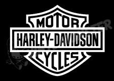 Harley-Davidson Motor Cycle Sticker Decal Vinyl Bike Car Toll box Laptop Etc