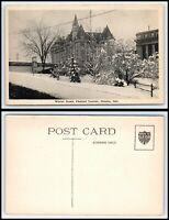 CANADA Postcard - Ottawa, Chateau Laurier In Winter AK