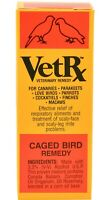 VetRx for Caged Bird Remedy Watery eyes Breathing trouble Coughing Sneezing