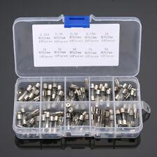 100pcs 5x20mm Quick Fissure Tube Fusibles 0.25/ 0.3/ 0.5 / 0.75 / 1/2/3/4/5 / 6A