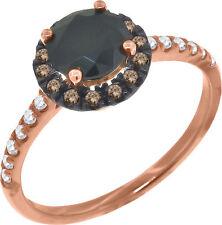 Modeschmuck-Ringe aus Sterlingsilber mit Diamant