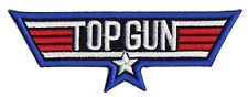 Patched Patch Top Gun Film USAF Aviation Pilote Thermoadhesive Transfer Patch