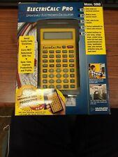 Calculated Industries ElectriCalc Pro 5060 Scientific Calculator