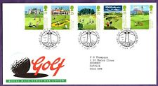 British Open Golf  TURNBERRY GOLF COURSE  LIGHTHOUSE triple Postmark 1994 COVER