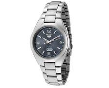 Seiko 5 Automatic Grey Dial Steel Men's Watch SNK621K1 RRP £169