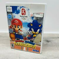 CIB Mario & Sonic at the Olympic Games (Nintendo Wii, 2007) COMPLETE